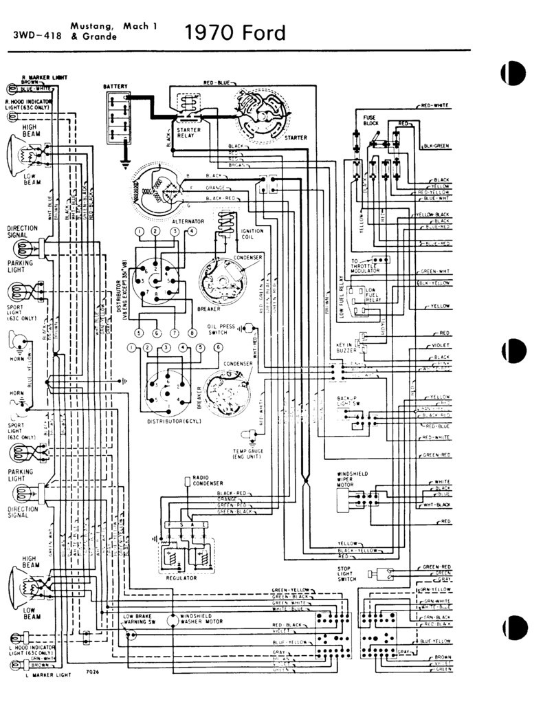 1972 ford mustang wiring diagram  u2022 wiring diagram for free