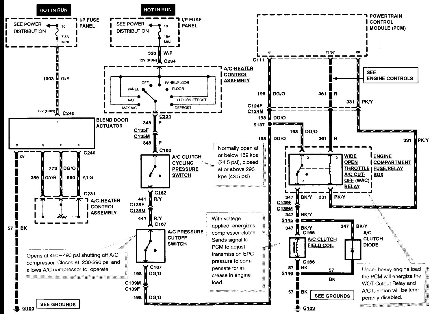 Ford Wiring Harnes Diagram 1988
