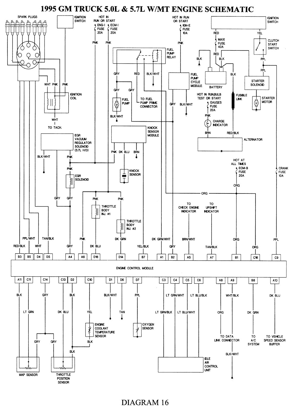 1990 chevy 1500 fuel pump wiring diagram unique