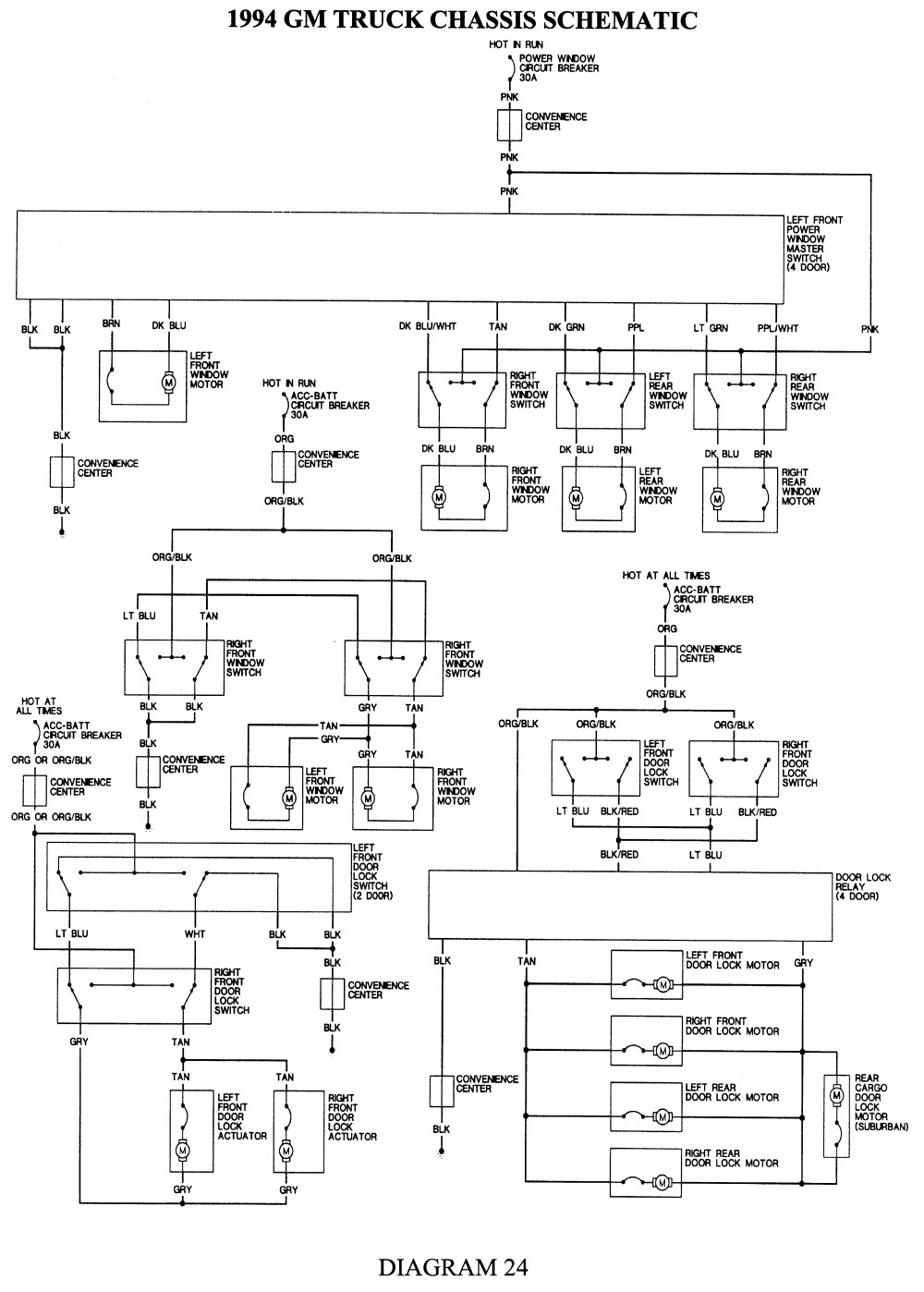 1994 Chevy Truck Wiring Diagram Free Wiring Diagram Image 93 S10 Alternator Wiring  Diagram 93 S10 Wiring Diagram