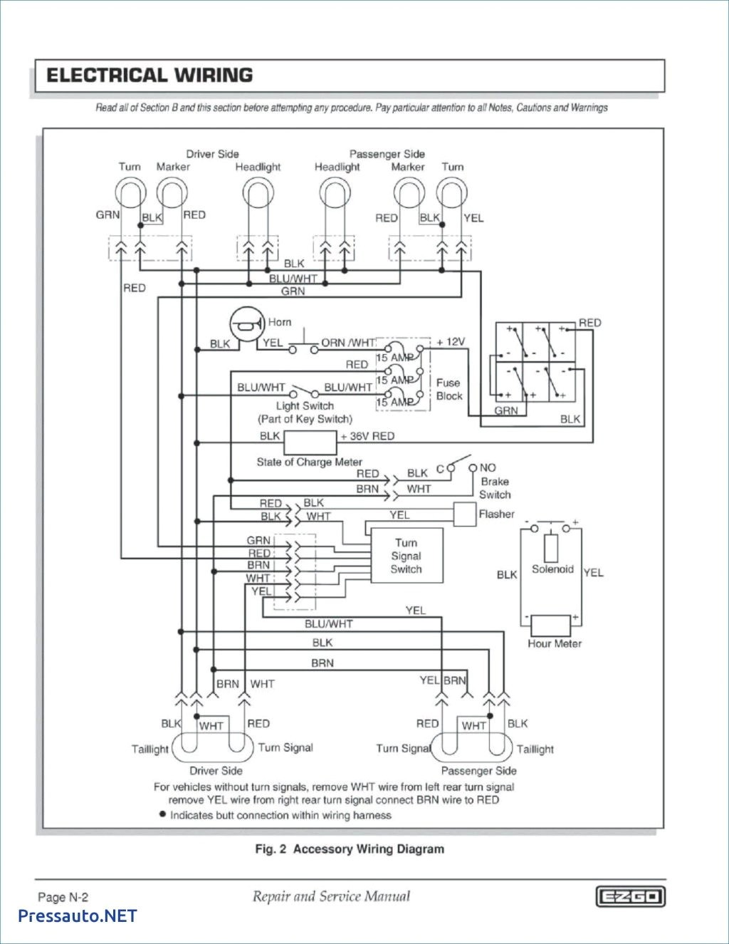 Ez Wiring Diagram New Club Car 36 Volt Awesome