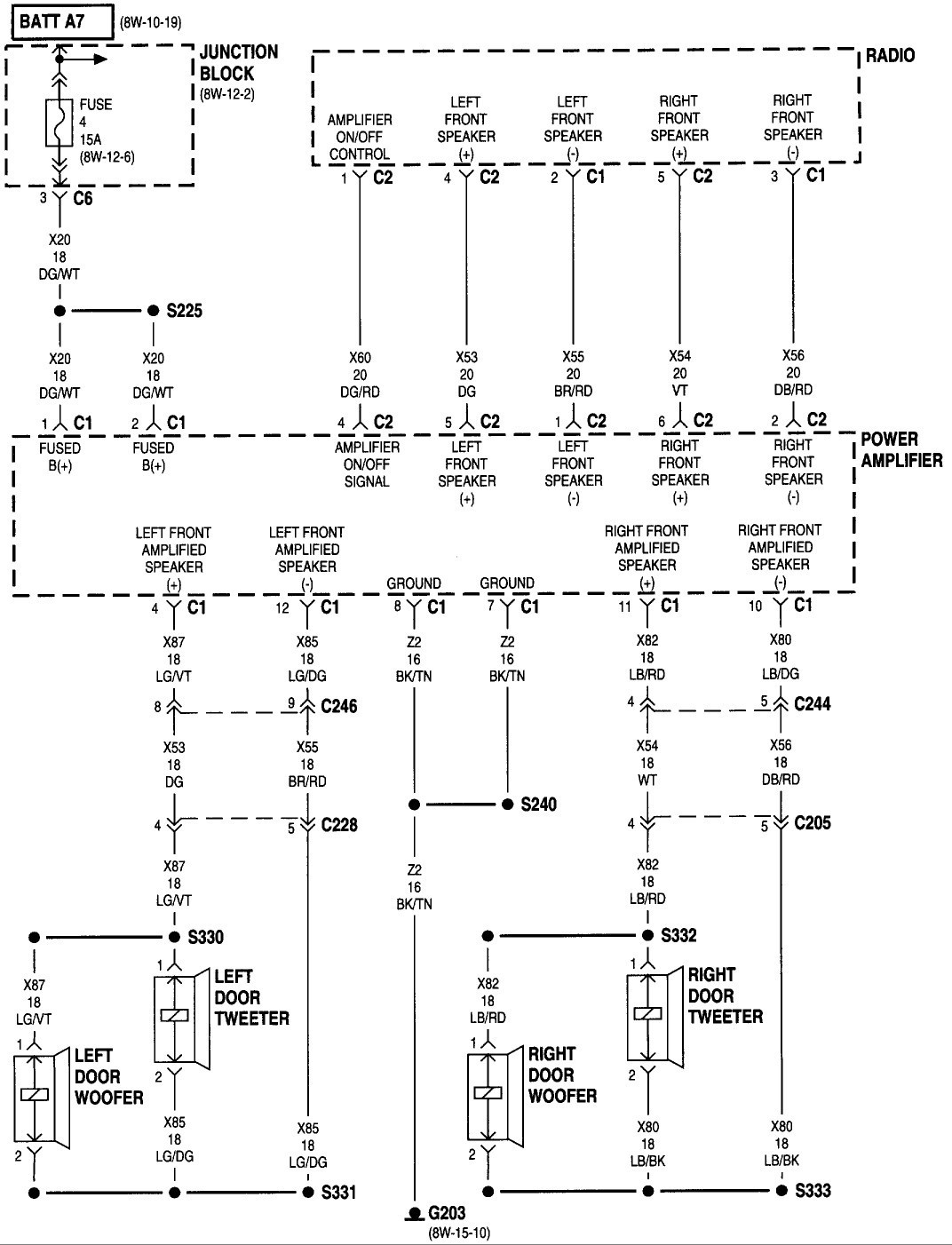 1998 Dodge Grand Caravan Fuse Box Diagram