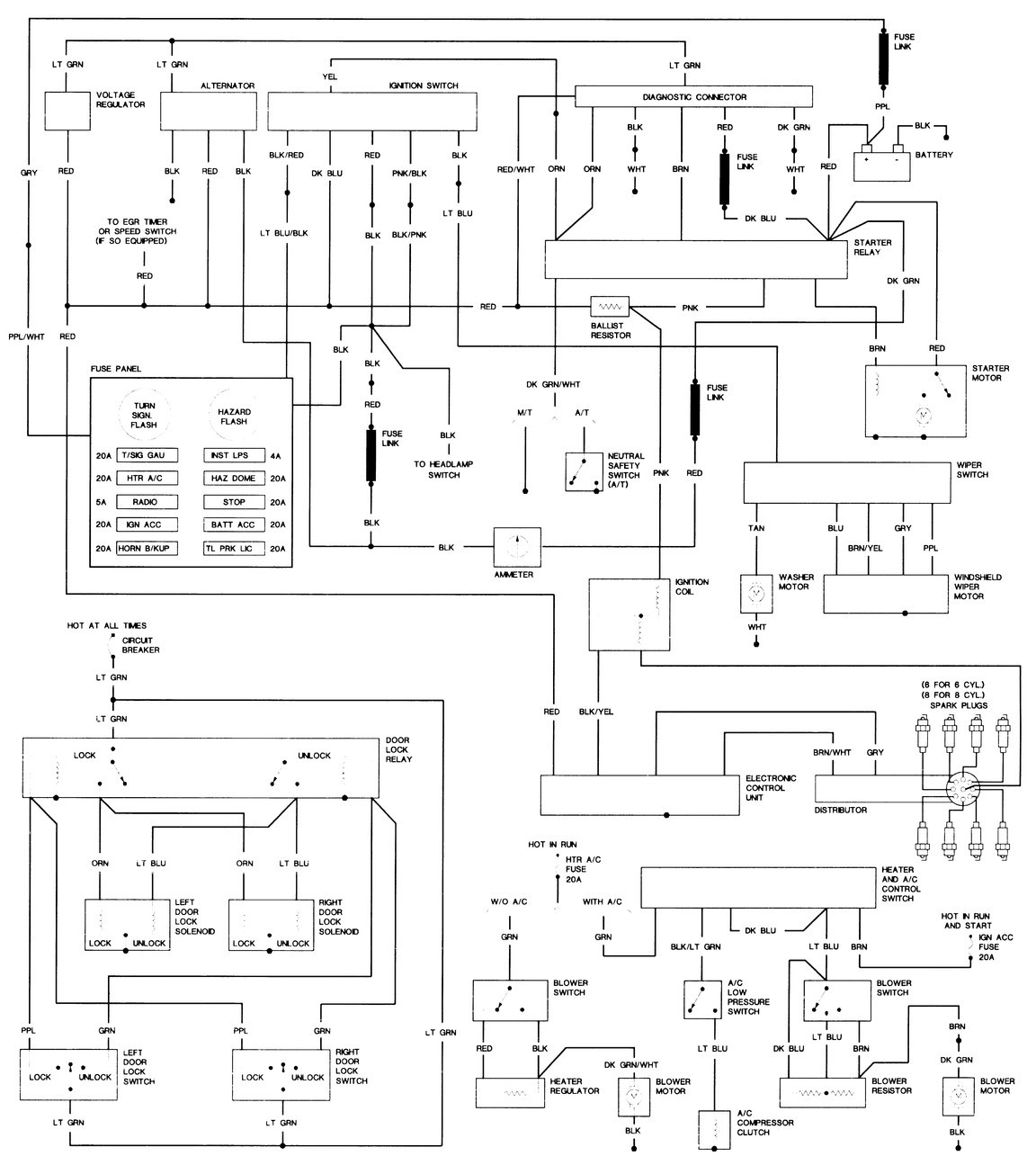 1979 Dodge D100 Wiring Diagram