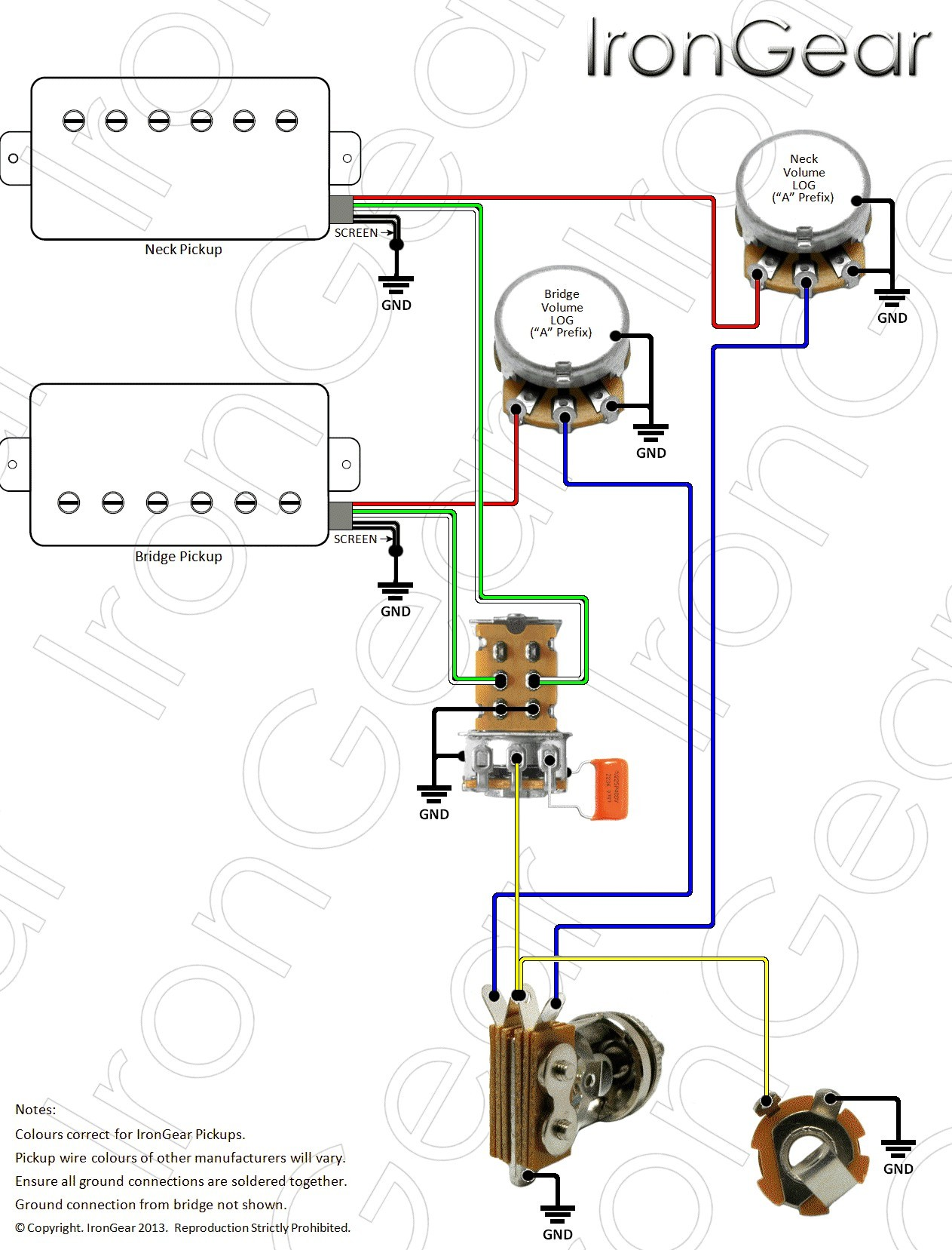 Active Guitar Wiring Diagram New Emg Wiring Diagram Copy Emg Wiring Diagram 81 85 2 Volume 1 Tone