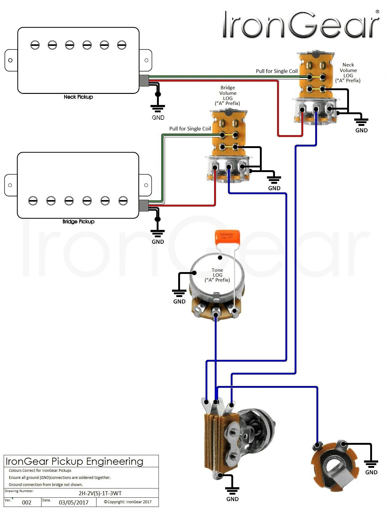 Guitar Volume Wiring Diagram Refrence Wiring Diagram 3 Pickup Guitar New Guitar Wiring Diagram 2 Humbucker