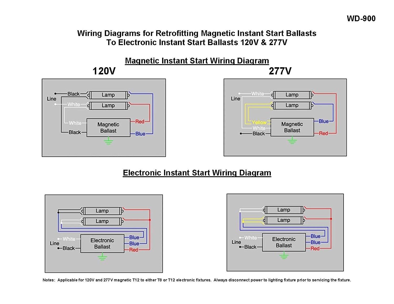 2 Lamp T8 Ballast Wiring Diagram Inside Radiantmoons Me