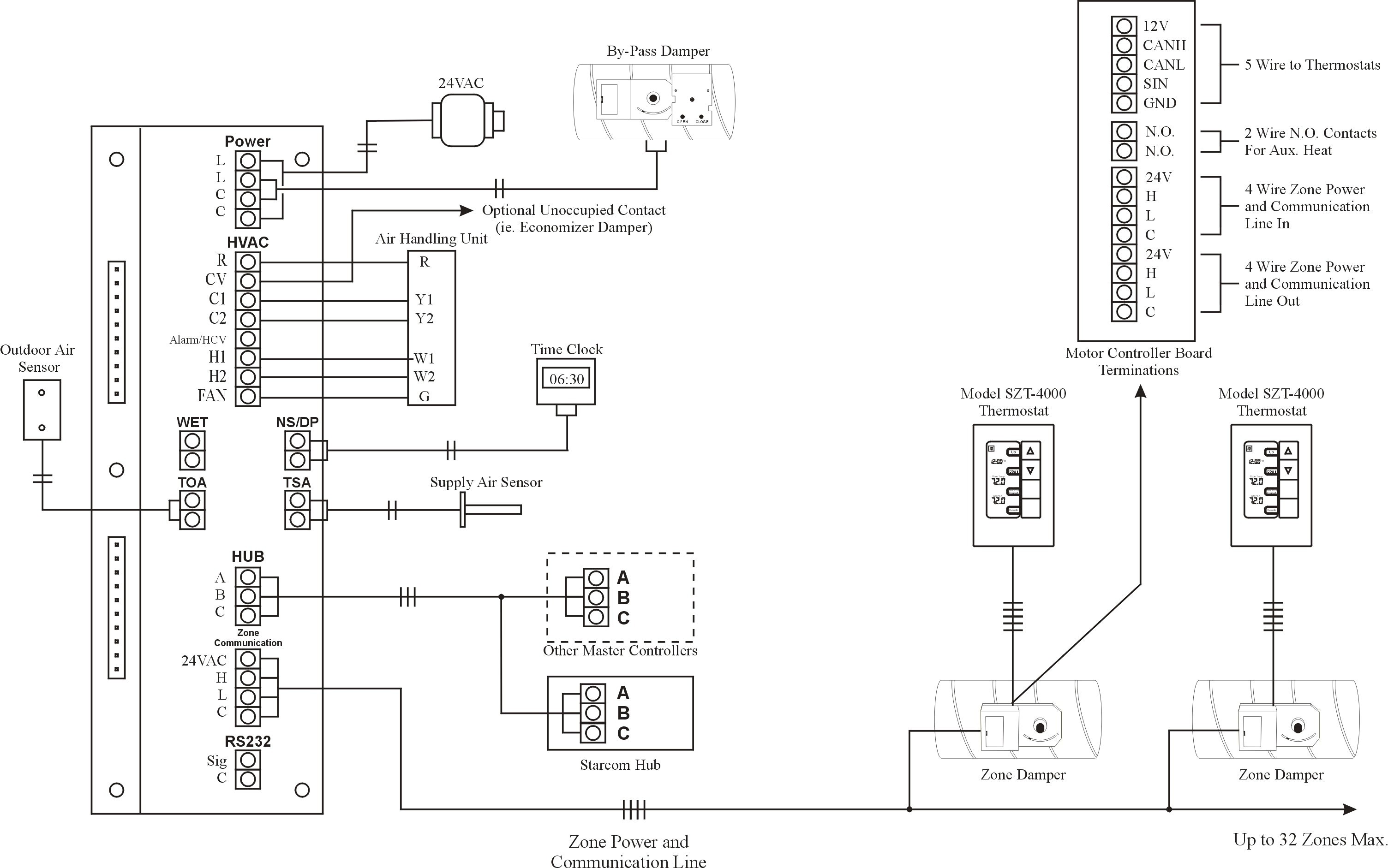 2 wire smoke detector wiring diagram awesome