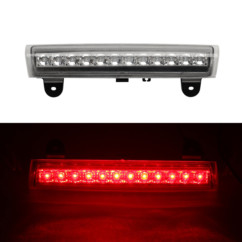 Housing REAR ROOF 12 LED 3RD Third Brake Light FOR 00 06 GMC 92 04 Chevy S10 Suburban Tahoe Yukon Red Gray White in Signal Lamp from Automobiles