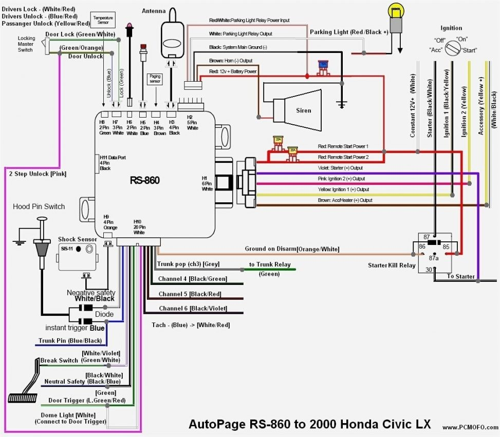 2000 honda accord coupe radio wiring diagram explained wiring diagrams rh dmdelectro co