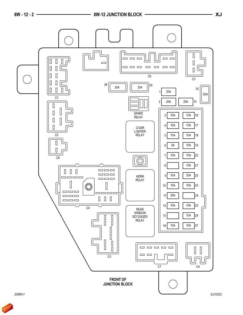 Fuse box and relay diagram for 2001 Cherokee Sport JeepForum Inspirational 2000 Jeep Grand