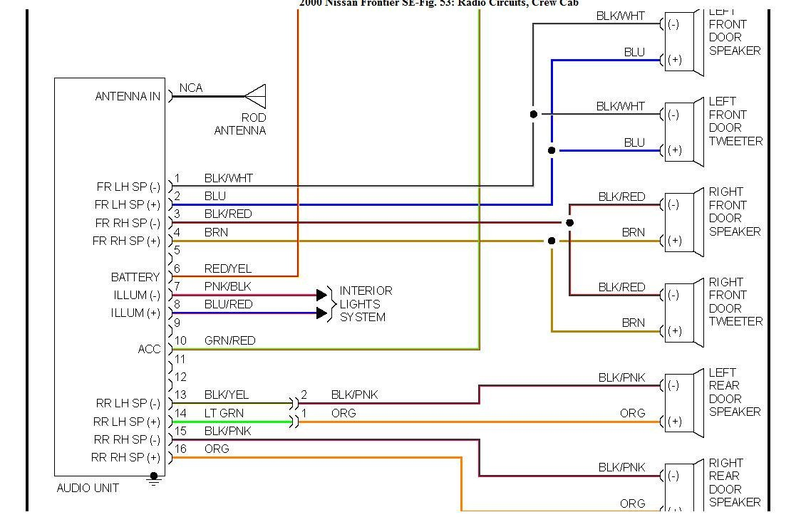 2003 Nissan Maxima Radio Wiring Diagram Britishpanto At