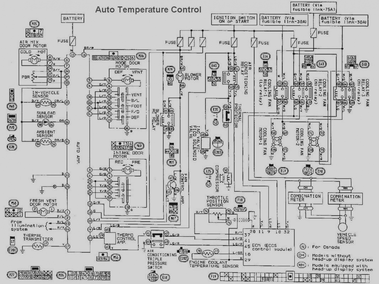 Wiring Diagram Nissan Serena 1991 2002 C23 Vanette Car Stereo Besides 2 Speed Electric Fan U0026 Sound Noise Insulation 28185