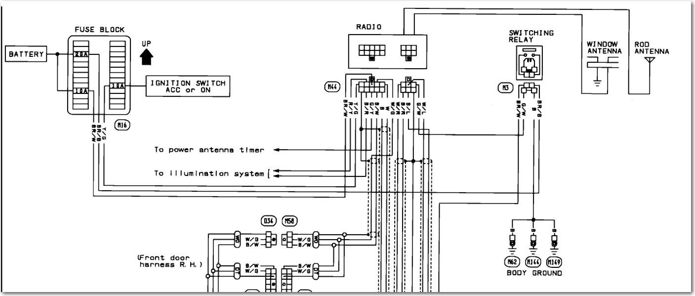 Nissan Maxima Radio Wiring Diagram Technical Articles 4th Gen For 2003