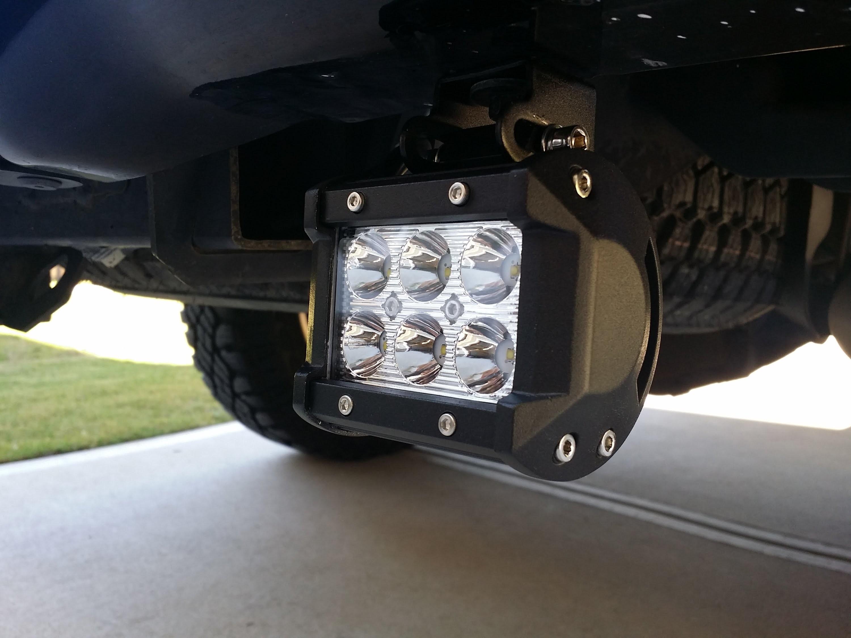 HOW TO INSTALL REAR F150 CREE LED REVERSE LIGHT BARS F150LEDS