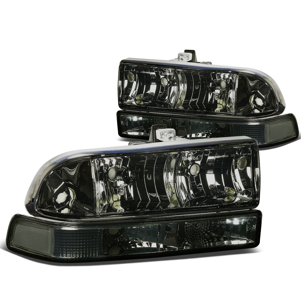 For 98 04 Chevy S10 Blazer GMT 325 330 Replacement HeadLight Assembly Kit