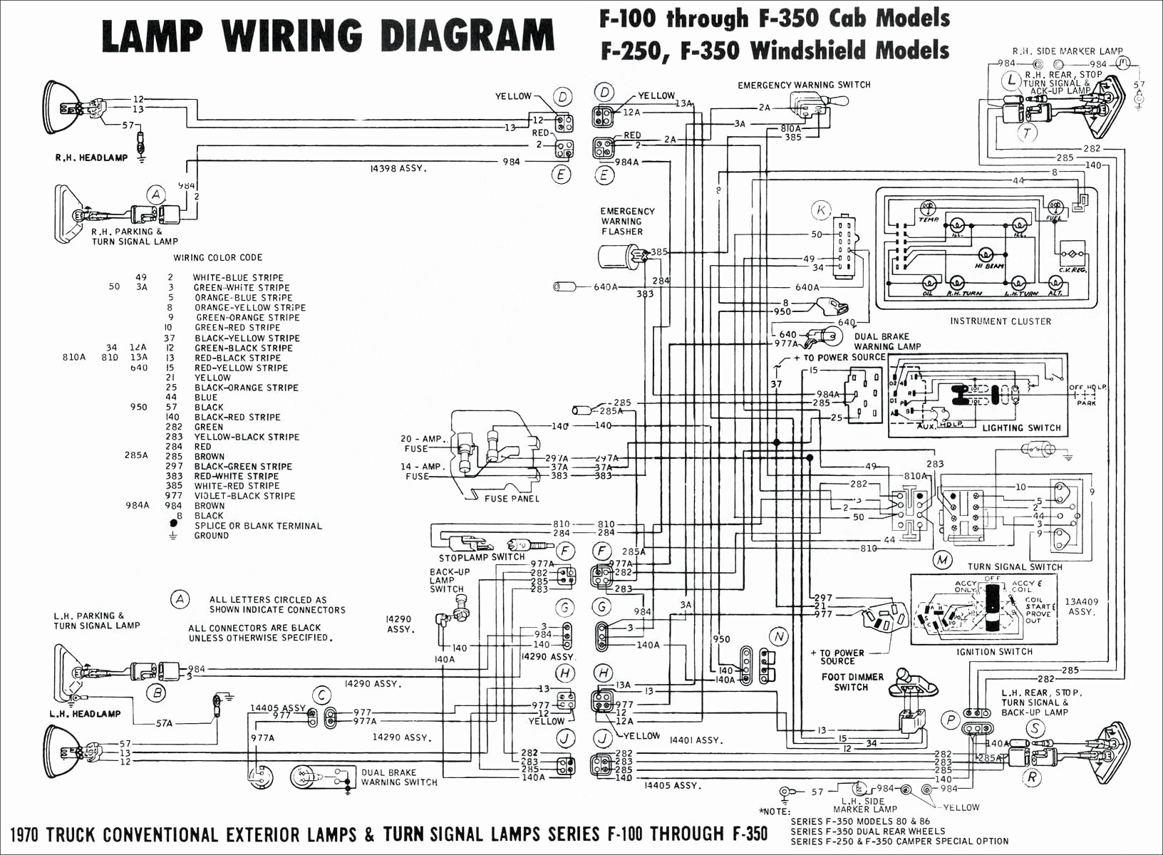 Tail Light Wiring Diagram 1995 Chevy Truck Fresh 1984 Ford Diagrams Manual