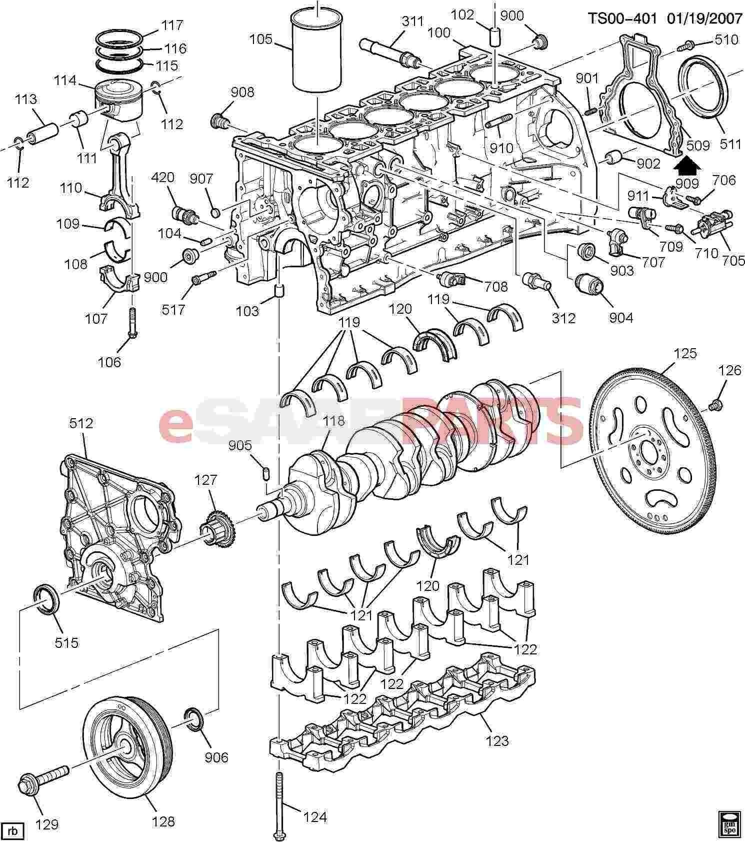 2003 Chevrolet Trailblazer Engine Diagram | Wiring Liry on