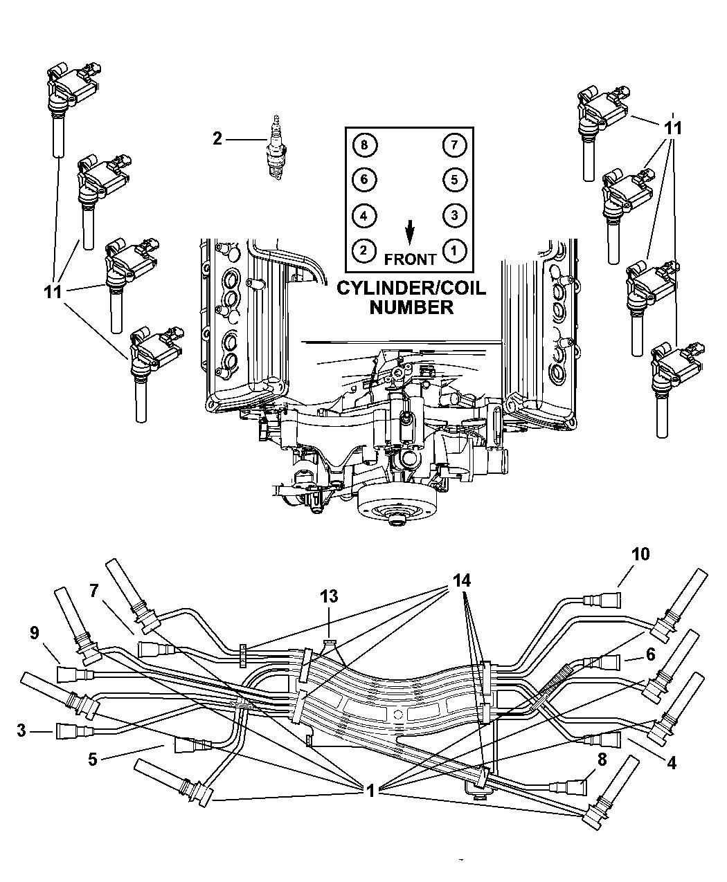Spark Plug Wiring Diagram 2004 Dodge Ram Hemi Wire Efcaviation New Within