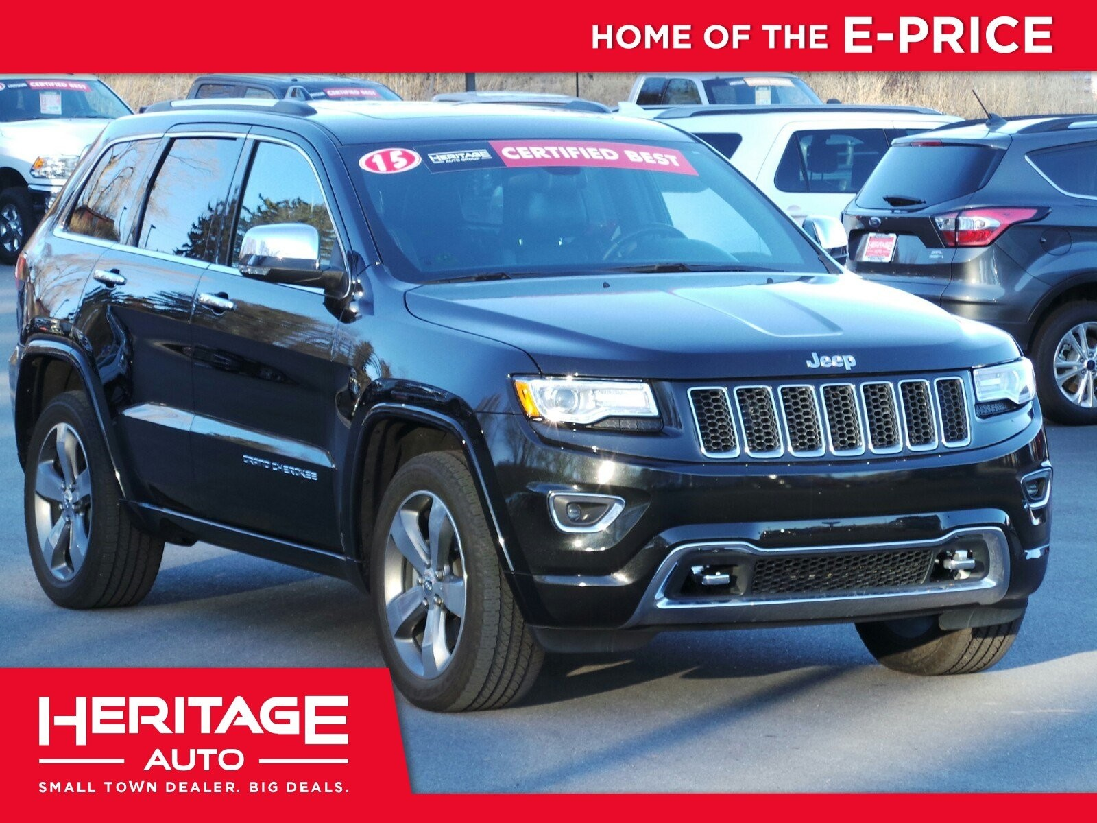 Pre Owned 2015 Jeep Grand Cherokee Overland