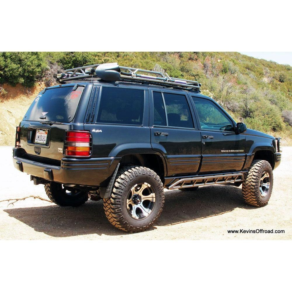 Jeep Grand Cherokee ZJ Roof Rack Safari Style Kevins froad Overland