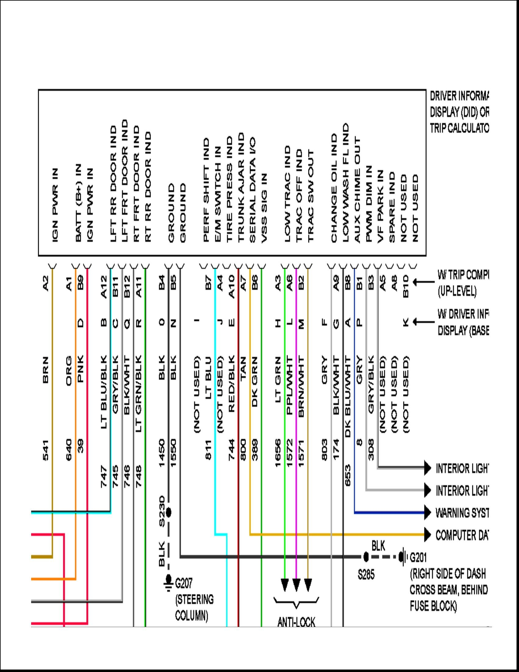 Diagram Pontiac Wave 2005 Radio Wiring Diagram Full Version Hd Quality Wiring Diagram Diagramjamare Emporiodue It