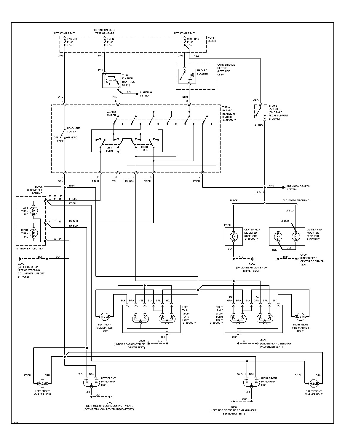 2001 Pontiac Grand Prix Radio Wiring Diagram from mainetreasurechest.com