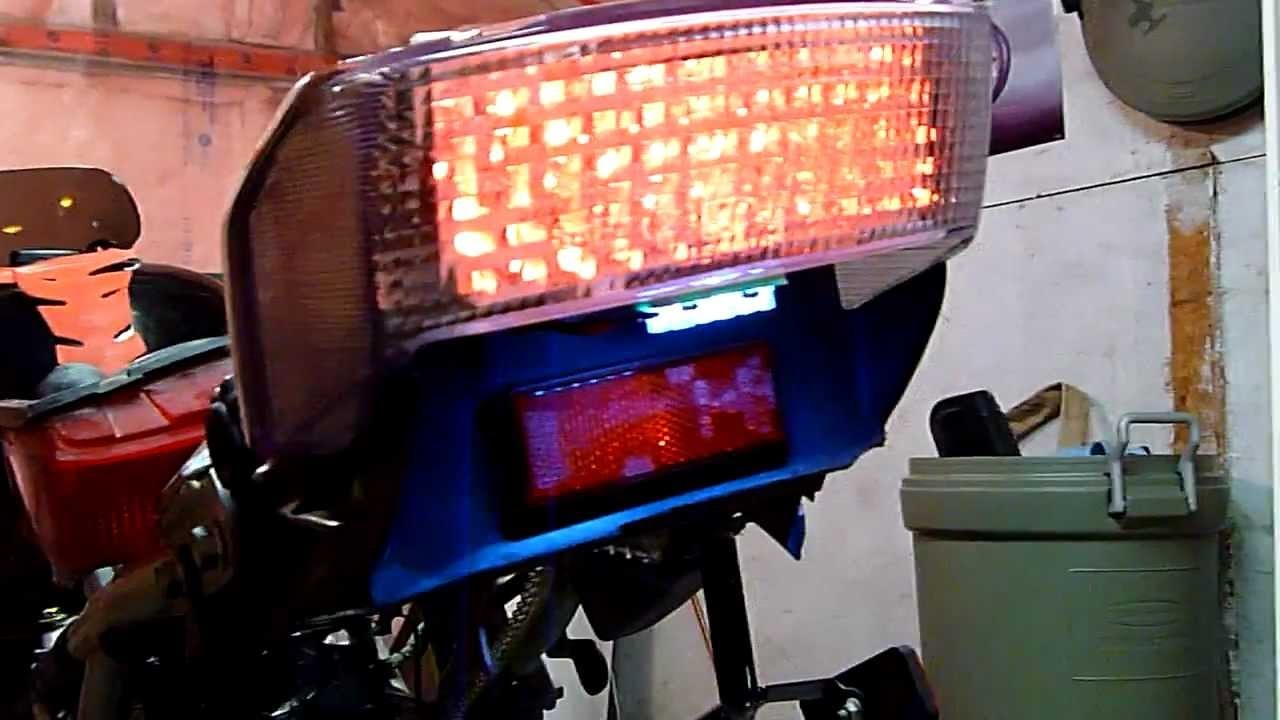 LED Intergrated Tail Light CBR 600 F2