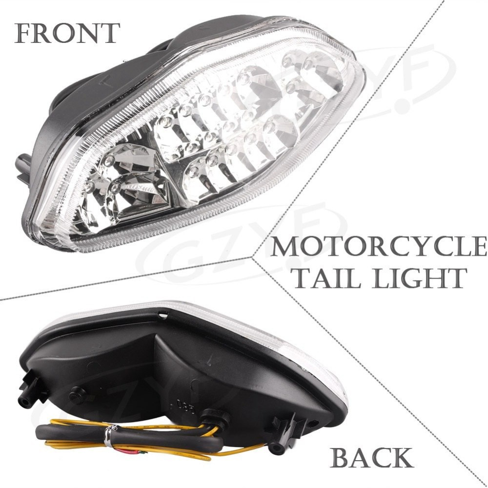 For Suzuki DL650 V Strom 2004 2009 Integrated LED Rear Tail Light Turn Signal Clear on Aliexpress