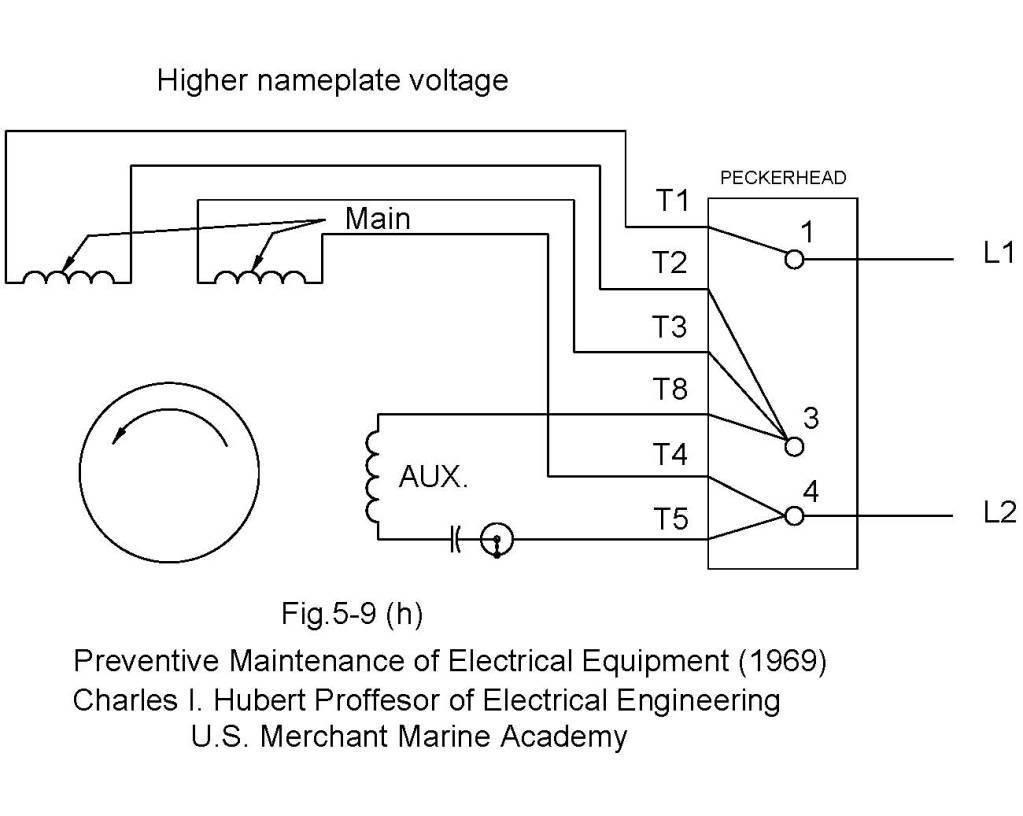 Single Phase 220v Wiring Diagram