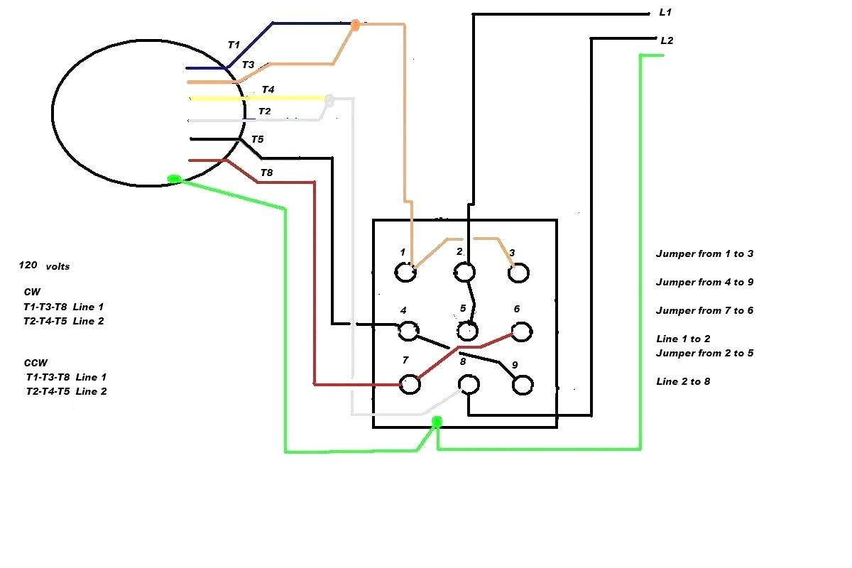 Single Phase Motor Wiring Diagram With Capacitor Start Roc Grp Org
