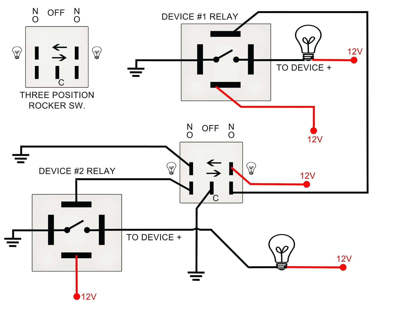 Led Rocker Wiring Diagram New Toggle Switch