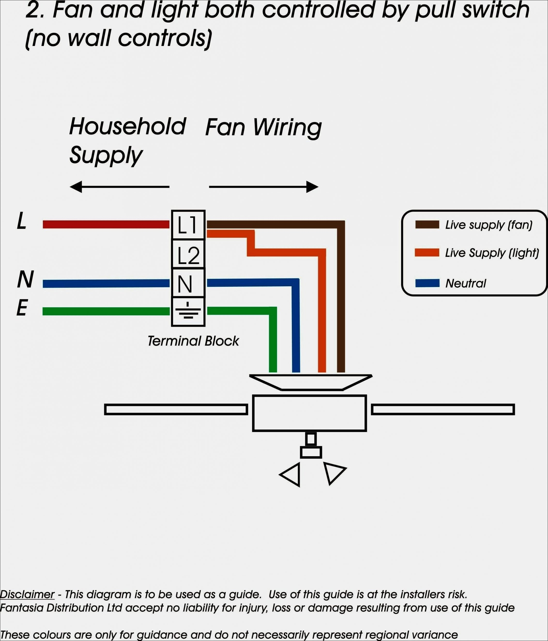 Ceiling Pull Switch Wiring Diagram
