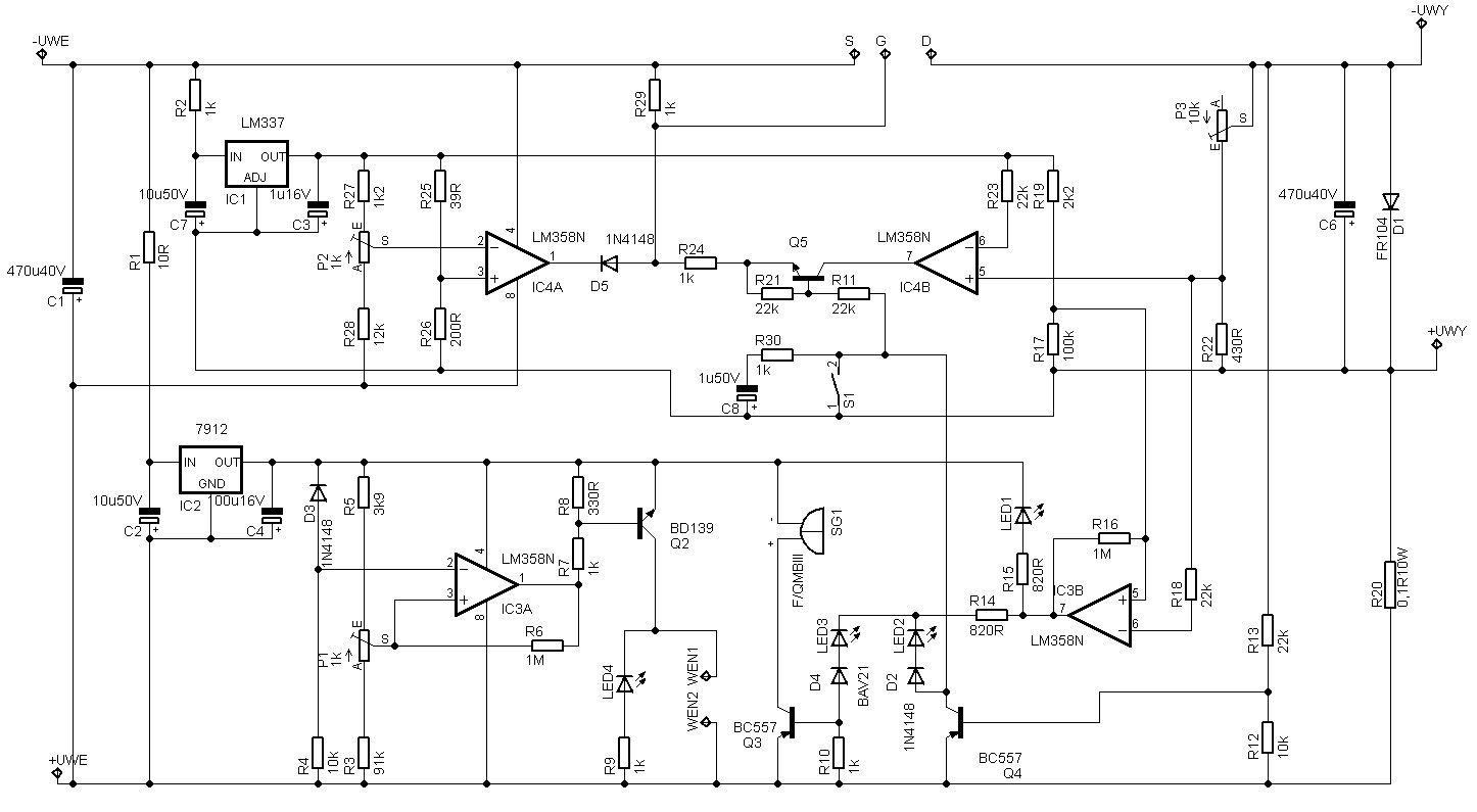 30V Adjustable 10A Regulated Power Supply Circuit regulator devresi power supply 150x150