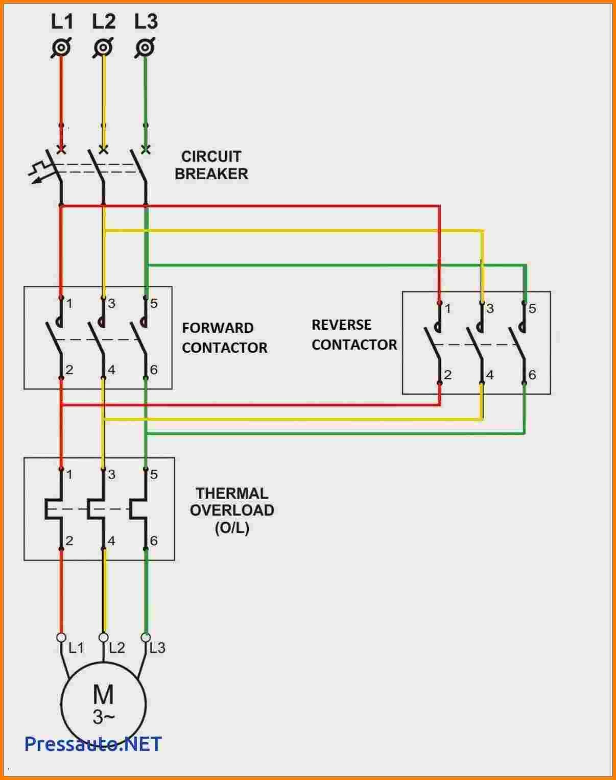Three Phase Contactor Wiring Diagram from mainetreasurechest.com