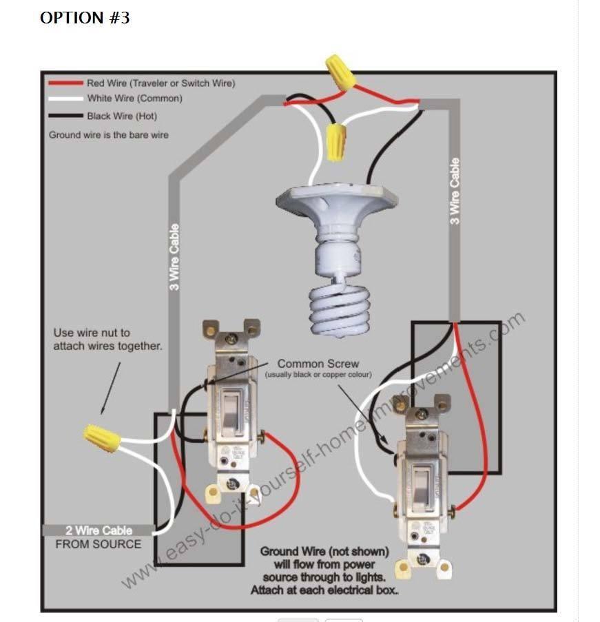 3 Way Lamp Switch Wiring Diagram | Wiring Diagram Image