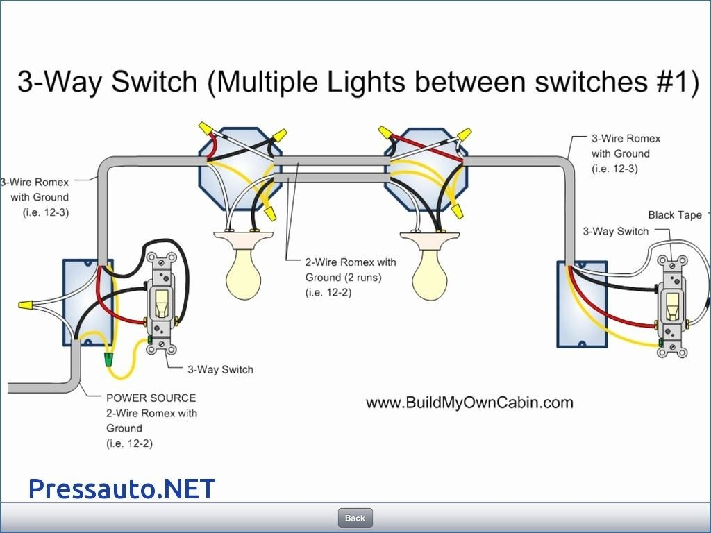 Size of Wiring Diagram 3 Way Switch Wiring Diagram Multiple Lights Best Unique