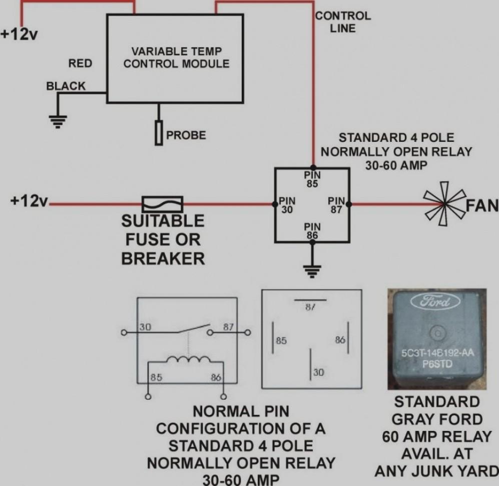 4 Pin Relay Wiring Diagram Best Of   Wiring Diagram Image