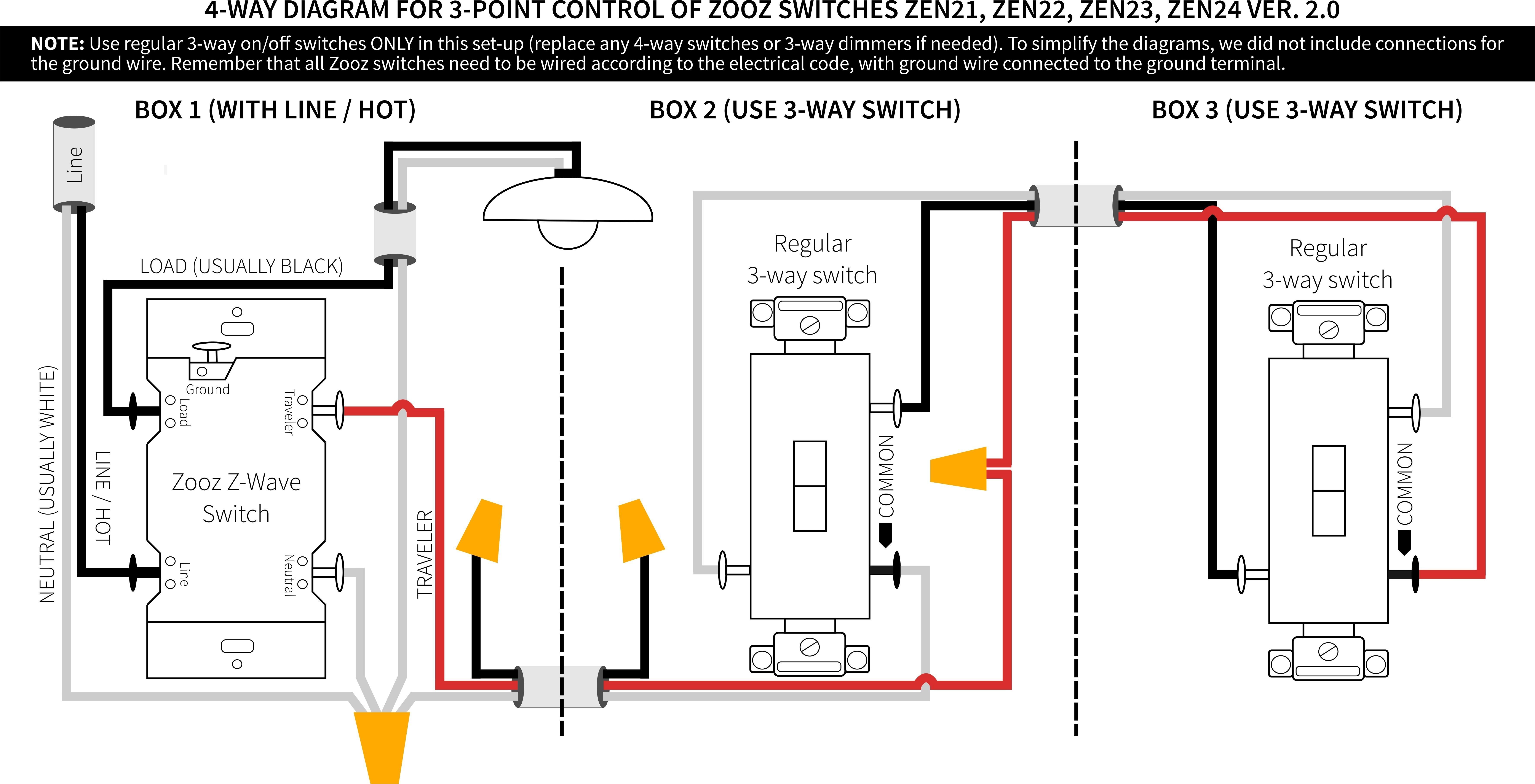 Three Way Wiring Diagram Multiple Lights Refrence 4 Way Switch Wiring Diagram Multiple Lights Fresh 4 Way Switch