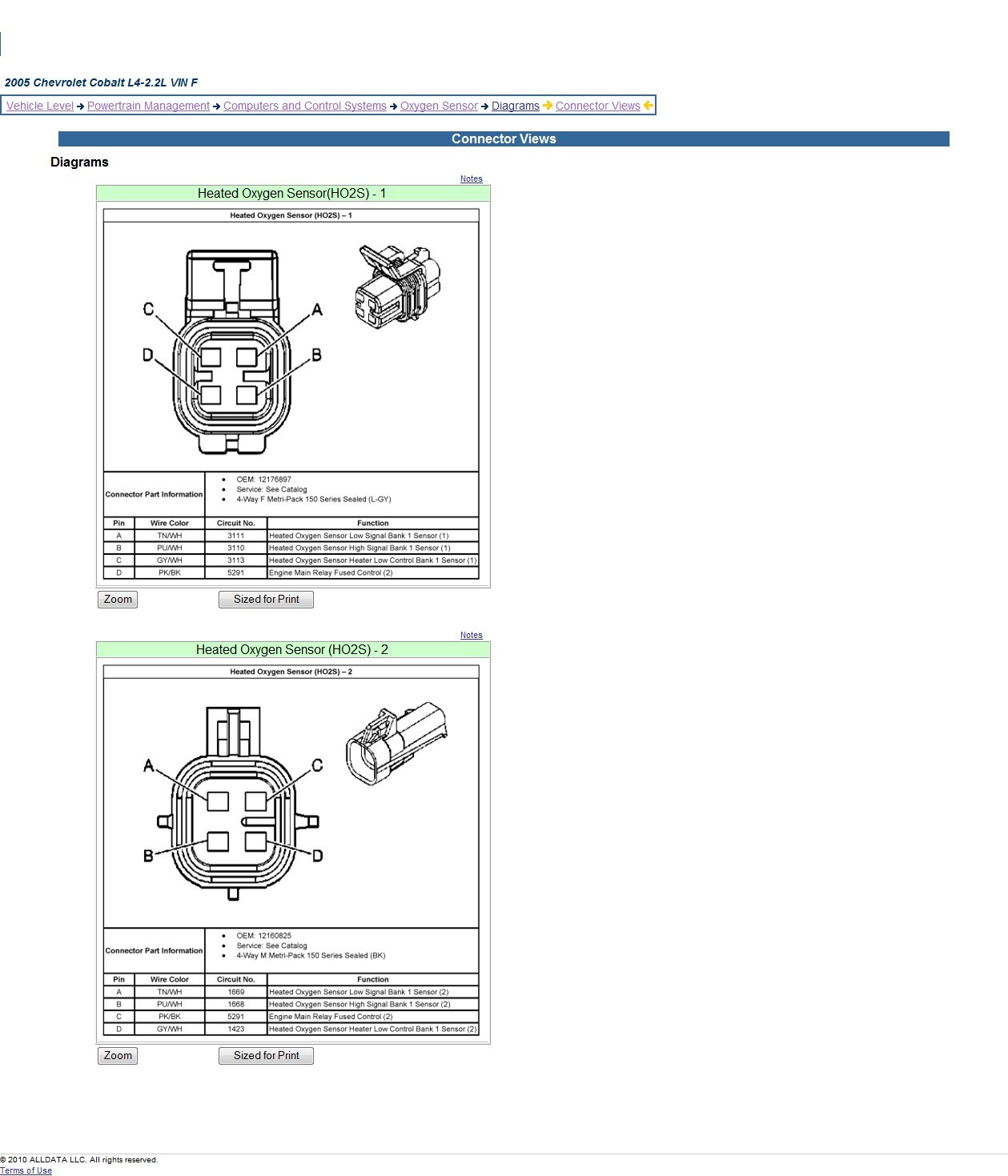 4 Wire Oxygen Sensor Wiring Diagram Image 1987 Camaro Fuse Honda Civic O2 Also 2005 Chevy C5500 Rh Optimalcad Co