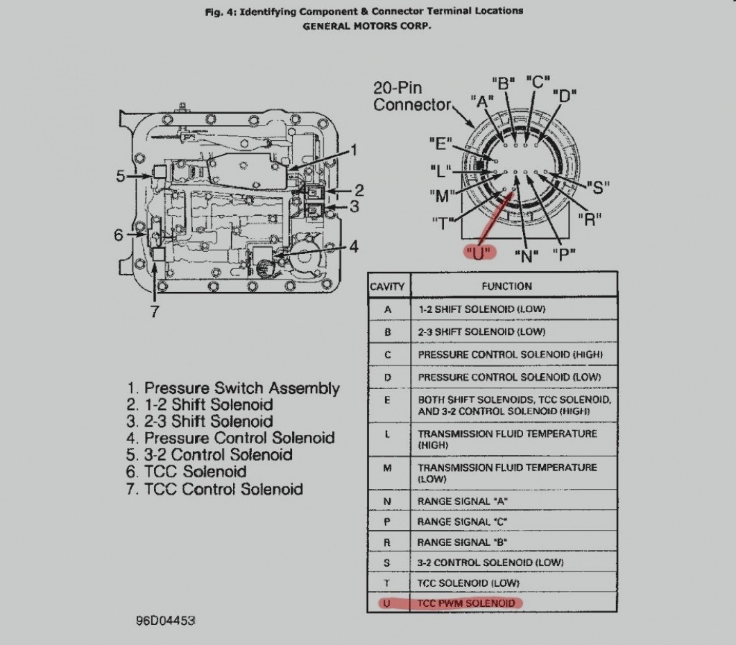 25 Latest Wiring Diagram For A 4L60E Transmission 4l60e Best Chev