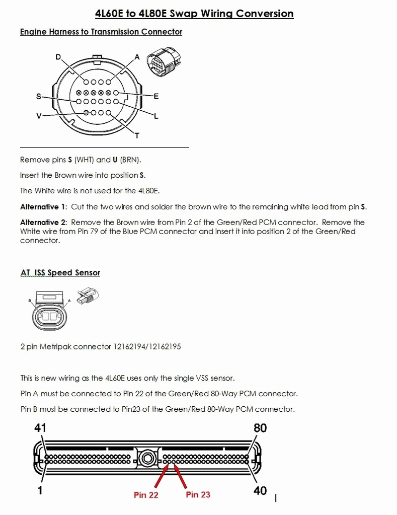 4l60e Wiring Diagram New This Is Whats Needed For The 4l60e To 4l80e Swap Page 6 Ls1tech