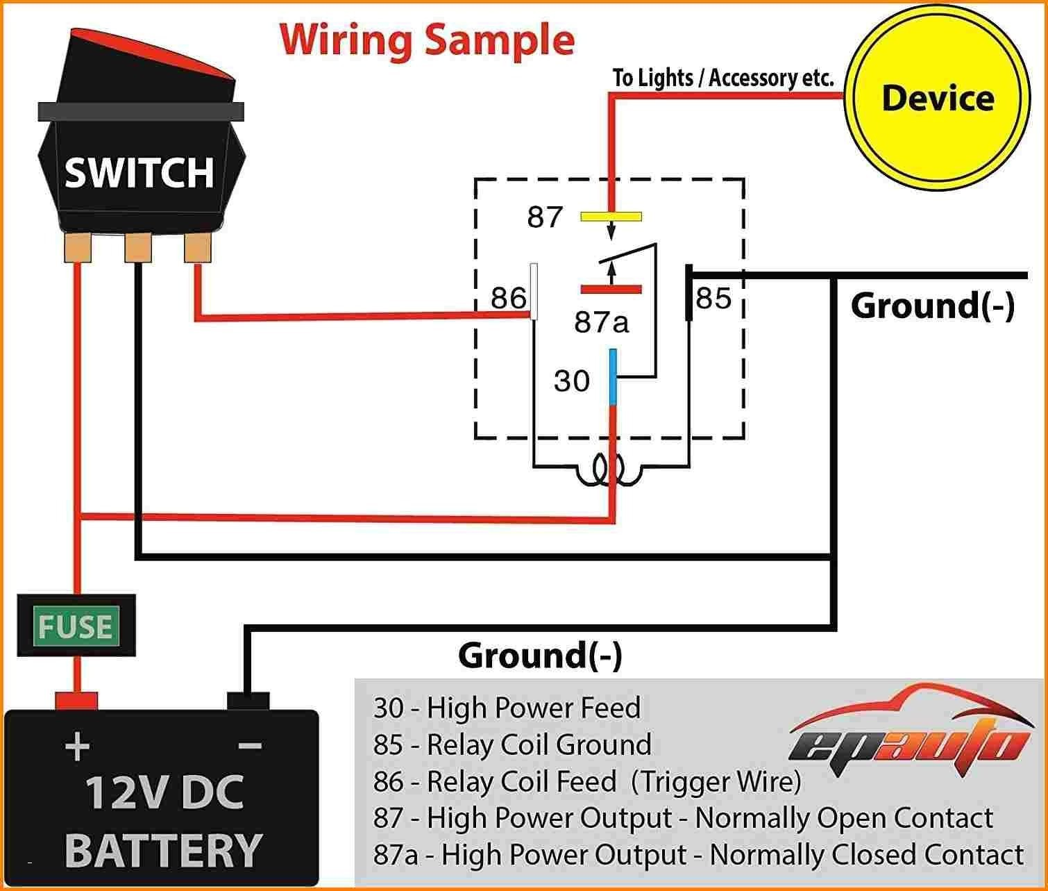5 Prong Relay Wiring Diagram New Image Maxon Refrence Pin Inspirational