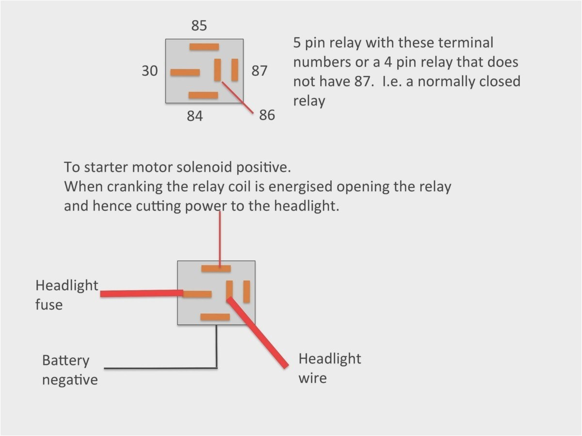 Best 5 Pin Relay Wiring Diagram Professional