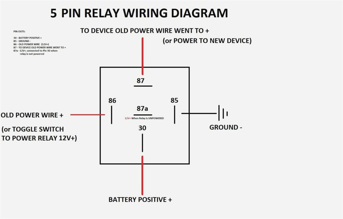 5 Prong Relay Wiring Diagram New | Wiring Diagram Image