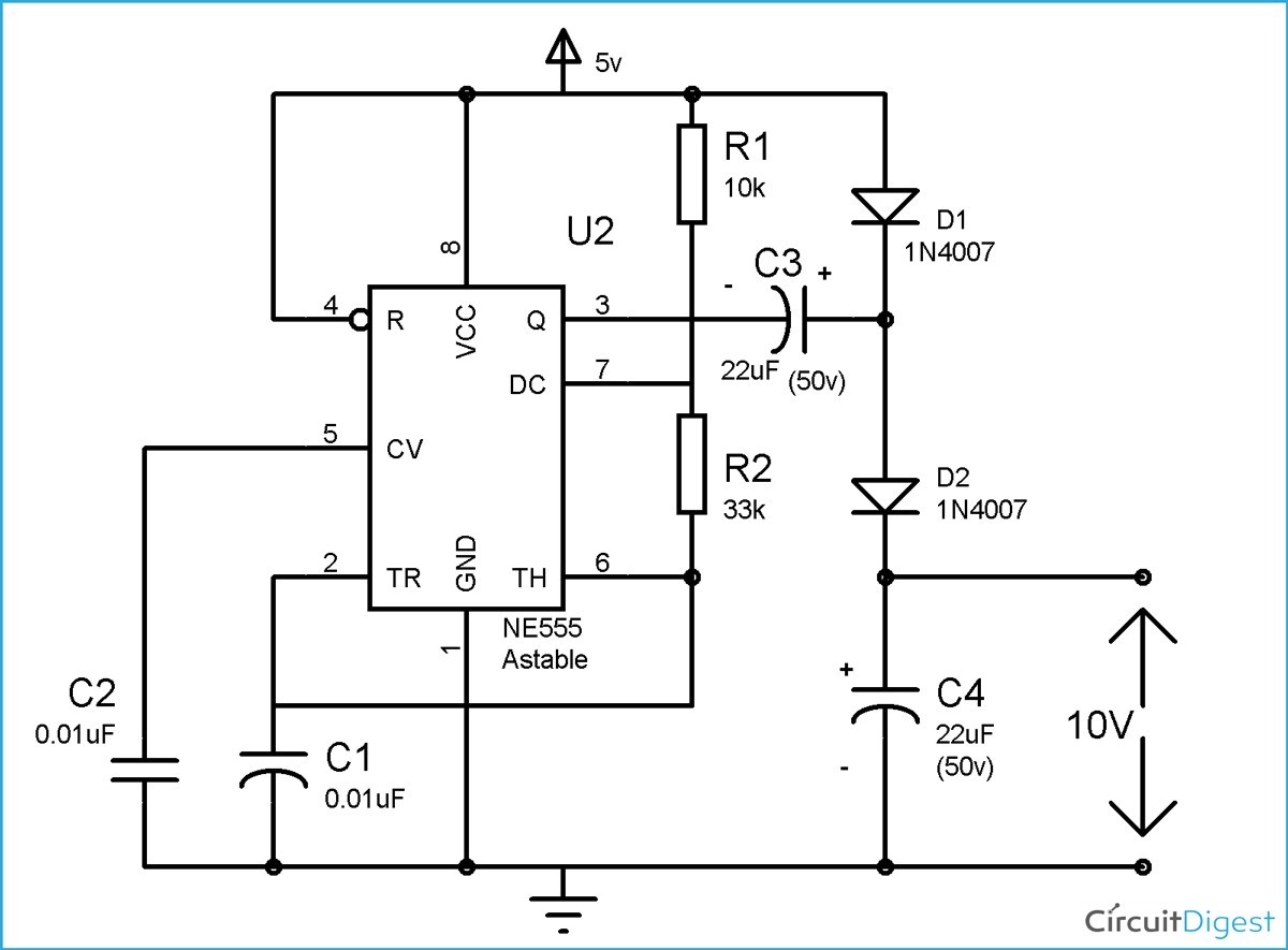 Voltage Doubler Circuit Diagram And Explanation Quadrupler Dia Full Size