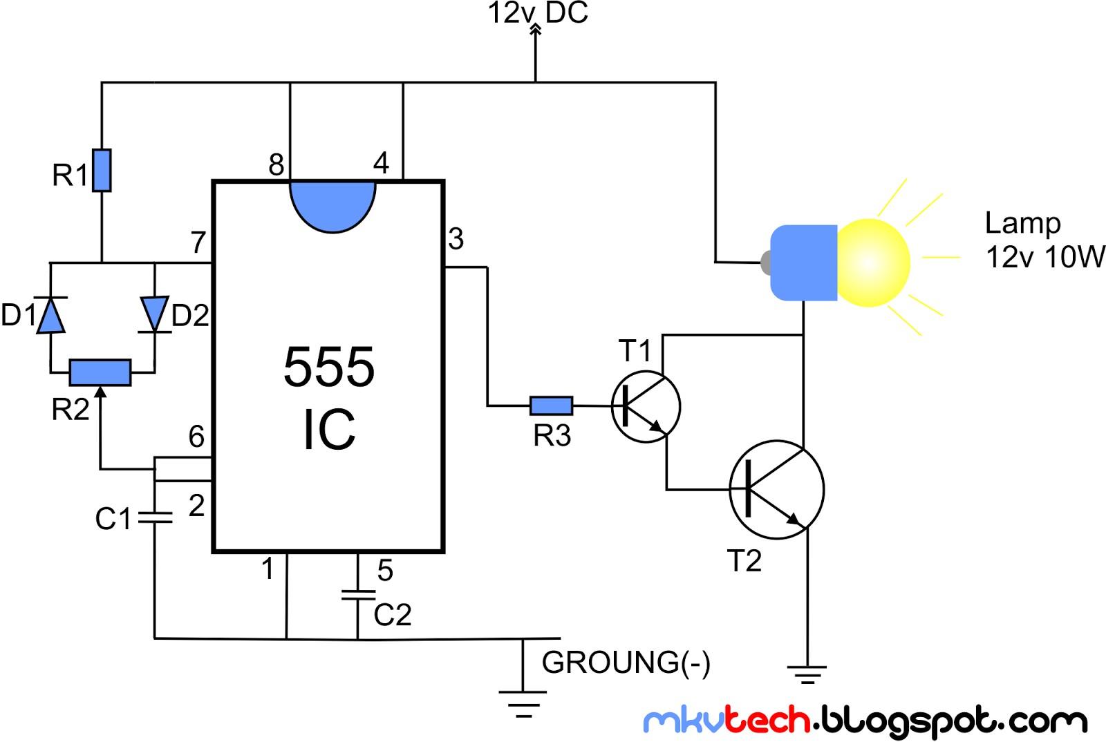 LED DIMMER 555