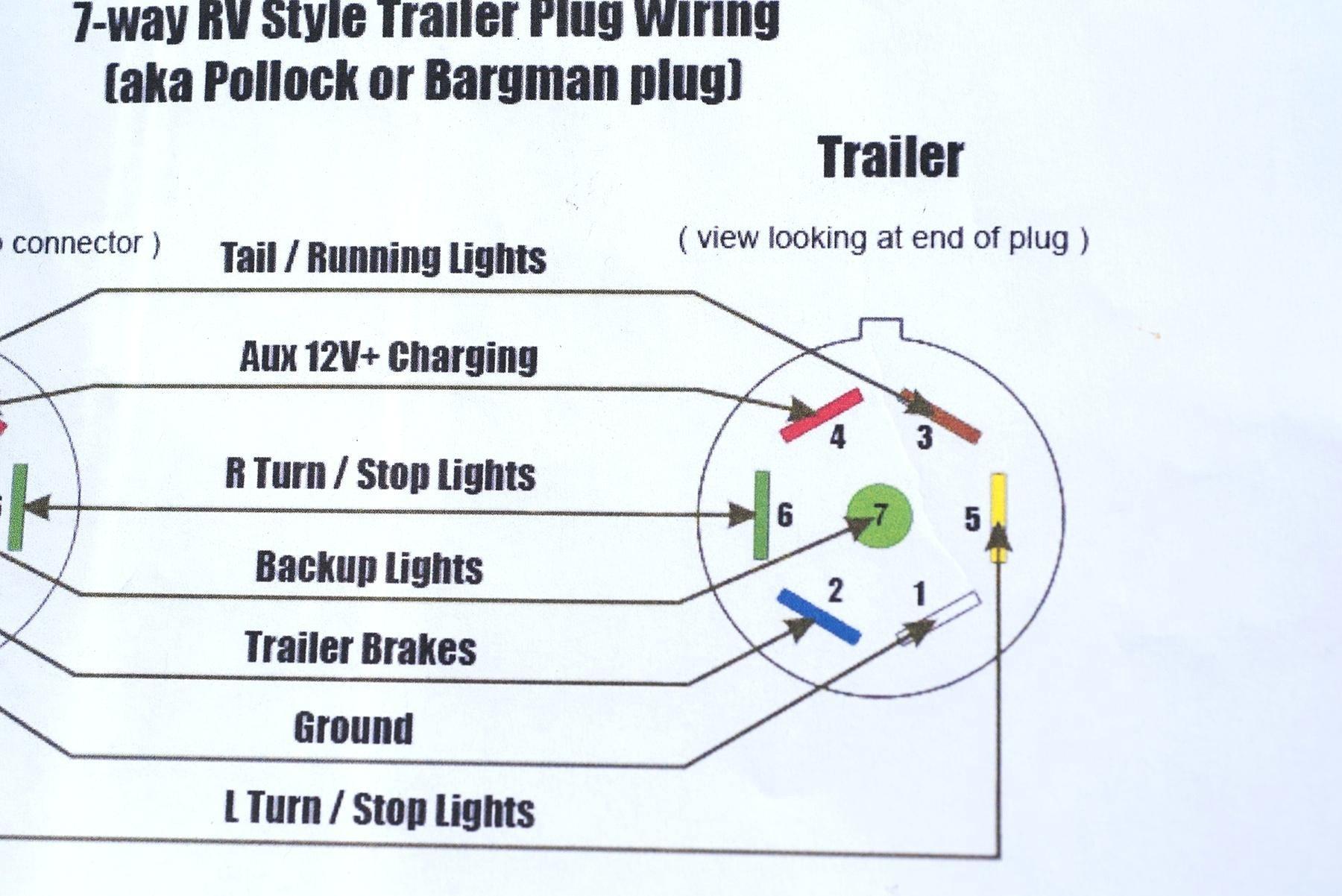 Wiring Diagram For Trailer Light Socket Fresh 6 Way Trailer Plug