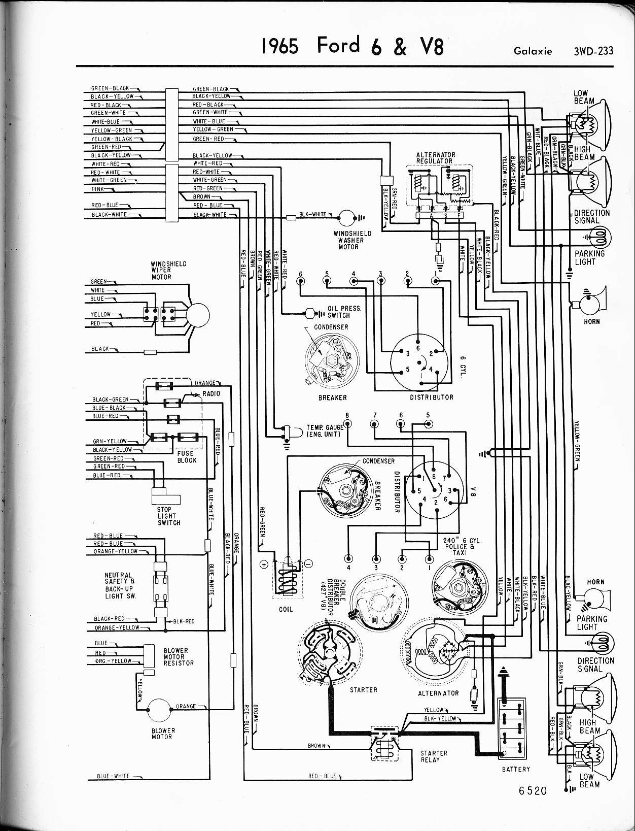 vintage mustang wiring diagrams brilliant 1965 ford diagram rh justsayessto me 1965 ford alternator wiring diagram 1965 ford ranchero wiring diagram