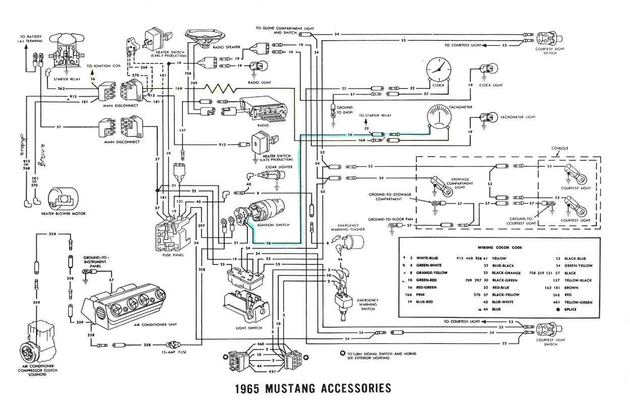 diagram moreover 1965 ford mustang wiring diagram on 66 mustang rh sonaptics co