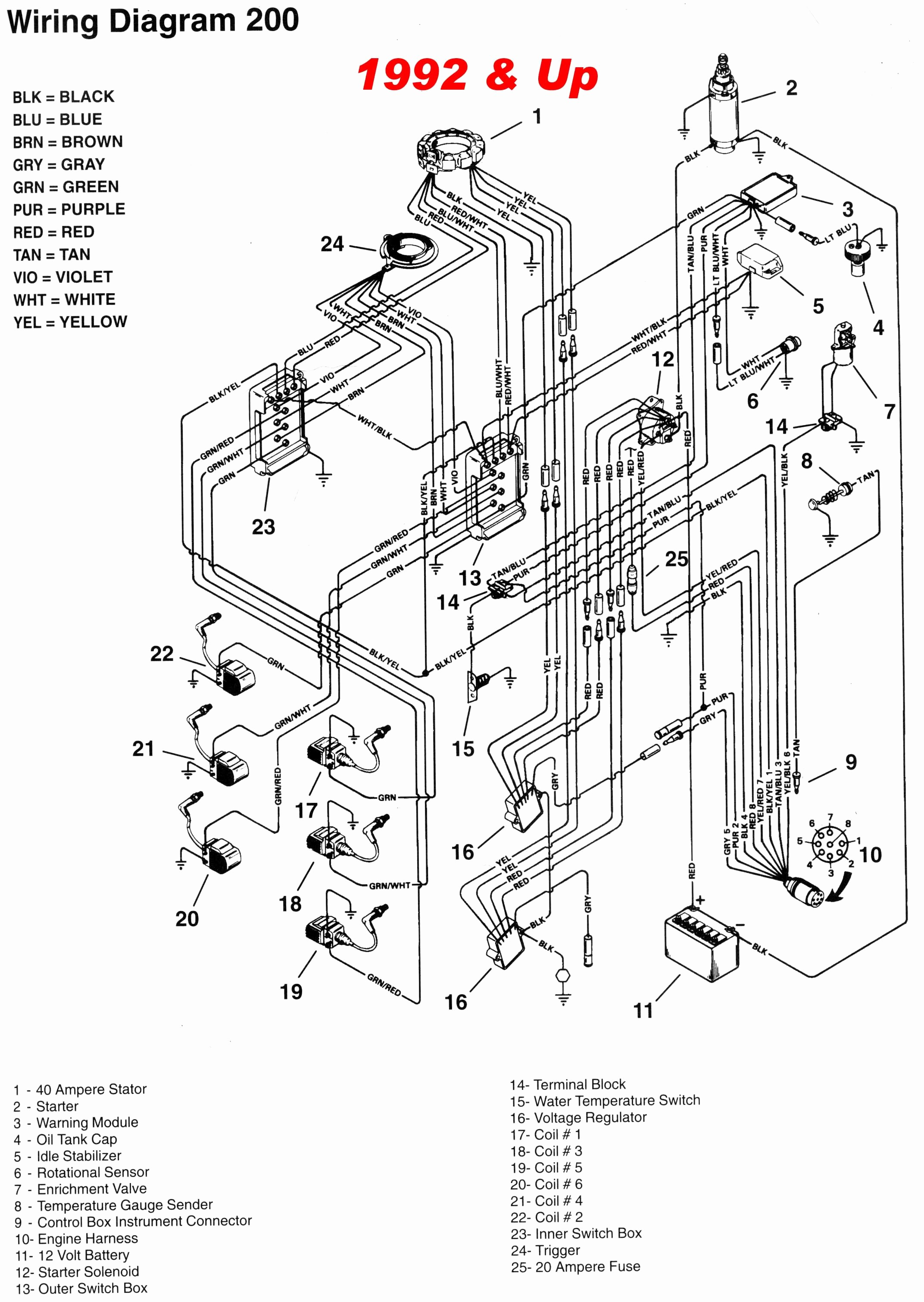 Mercruiser 5 7 Wiring Harness - Wiring Diagram Perfomance on